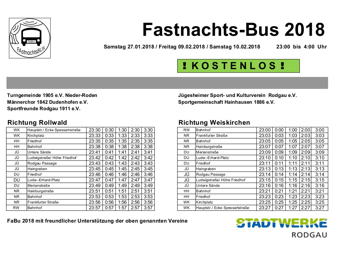 Bäderbus-Saison endet » Aktuelles