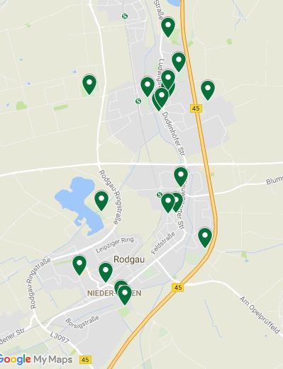 Karte Rodau App